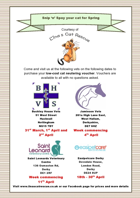 LCR Neutering Poster